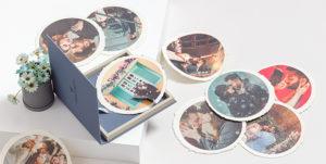 Baby Photo Box with 10 Prints -7X7 B5