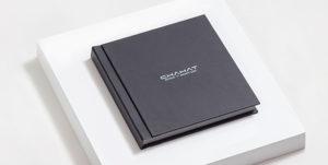 Leather photo album with box LC-01-1