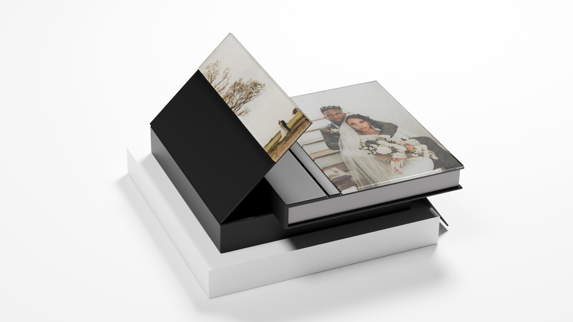 Elevate Your Clients Wedding Albums With Custom Acrylic Cover Box